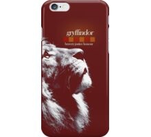 Gryffindor - House of the Brave, Just, and Honorable iPhone Case/Skin