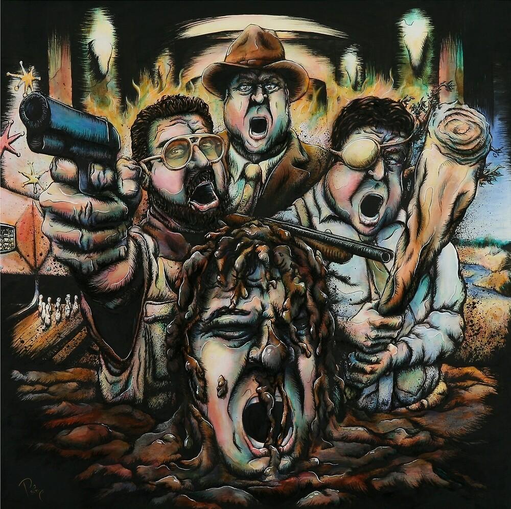 Quartet of Screaming Goodmans by Daryll Peirce