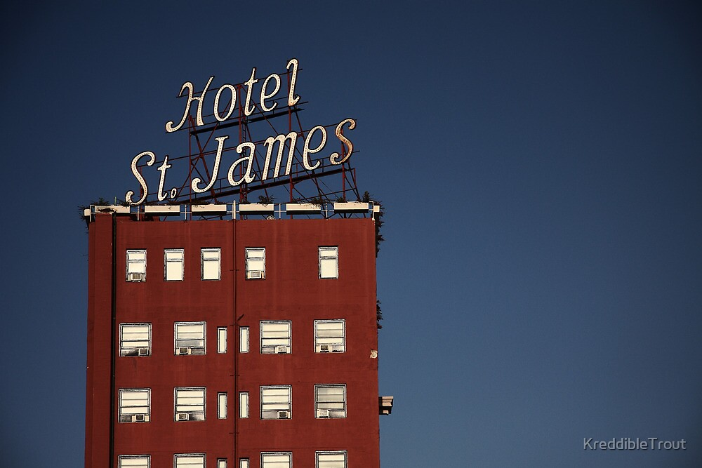 hotel st. james by KreddibleTrout