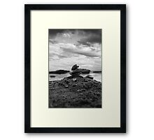 Rock Tower - Australia Framed Print