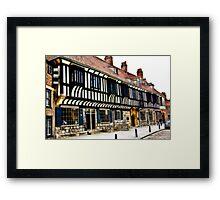 St William's College  -  York. Framed Print