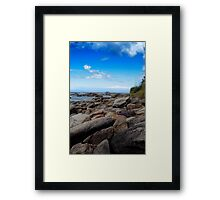 Rock Hopping - Australia Framed Print