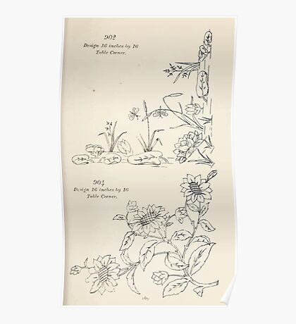 Briggs & Company Patent Transferring Papers Kate Greenaway 1886 0179 Poster