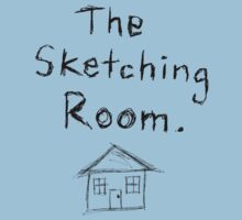 the sketching room t-shirt by byronC