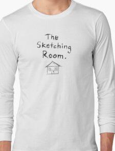 the sketching room t-shirt Long Sleeve T-Shirt