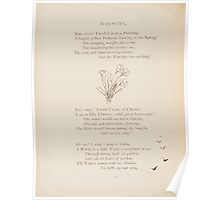 Rhymes for the Young Folk William and Hellen Allingham art Kate Greenaway 0042 Wishing Poster