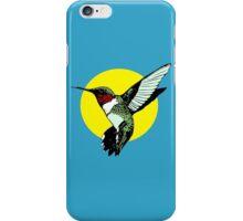 Ruby-throated hummingbird iPhone Case/Skin