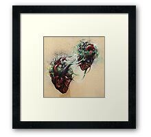 Arrested Vascular Fusion of Two Entities in Need Framed Print