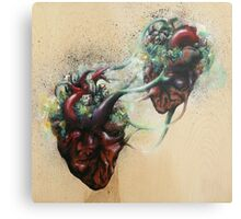 Arrested Vascular Fusion of Two Entities in Need Metal Print