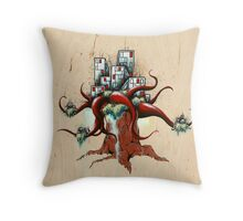 Perspective Metamorphosis 2 Throw Pillow