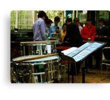 Percussion Ensemble Canvas Print