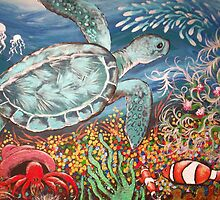 Beyond the Coral Reef by Sally Ford
