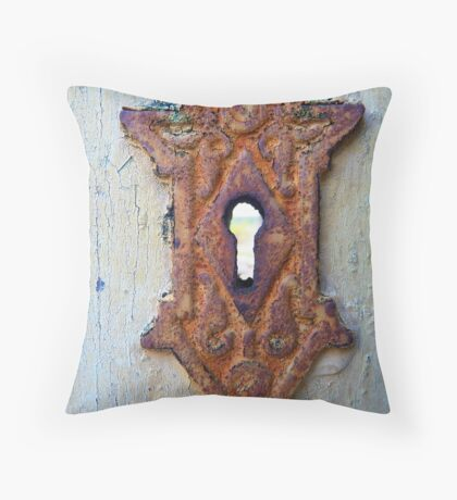 This Old House, View 6 Throw Pillow