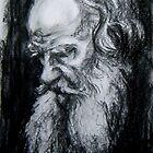 Leo Tolstoy by Hidemi Tada