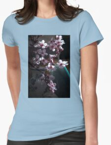 Tiny Blossoms Womens Fitted T-Shirt