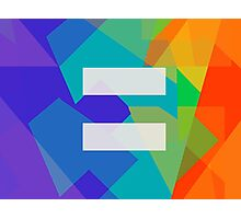 Equal (LGBT) Photographic Print