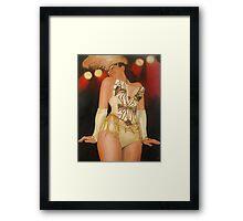 Showstopper Framed Print