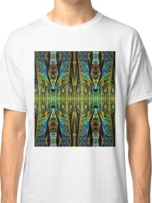 Tribal patterns, fractal abstract Classic T-Shirt
