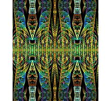Tribal patterns, fractal abstract Photographic Print