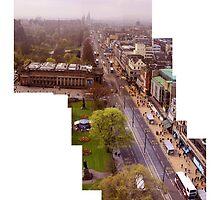 Edinburgh Princes Street Montage  by abbotsford