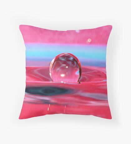 A bubble for redbubble. Throw Pillow