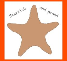 Starfish and proud! Kids Clothes