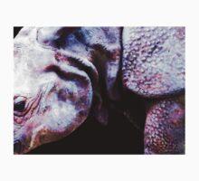 Rhino 2 - Buy Rhinoceros Art Prints One Piece - Short Sleeve