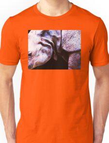 Rhino 2 - Buy Rhinoceros Art Prints Unisex T-Shirt