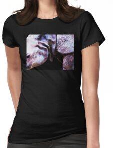 Rhino 2 - Buy Rhinoceros Art Prints Womens Fitted T-Shirt