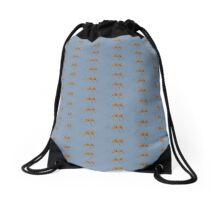 Wind Blown in Blue Drawstring Bag