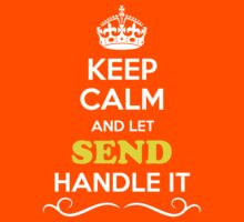 Keep Calm and Let SEND Handle it Kids Clothes