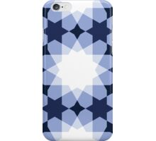 Simple Mudejar in Navy and White iPhone Case/Skin
