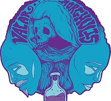 Valar Morghulis - Groovy Blue by stevebramhall