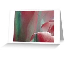 Tulip - red Greeting Card