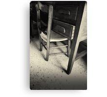 Sleeping chair Canvas Print