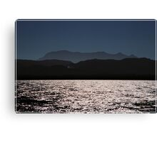Sea, Sun and..... Canvas Print