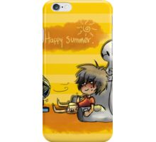 Happy Summer - Hiro and baymax iPhone Case/Skin