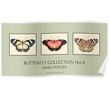 Butterfly Horizontal Collection 4 - Print Poster