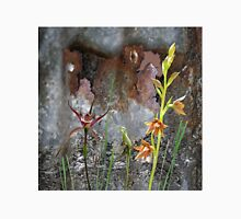 Rusty Spider & Orchids with Rusty Tin, native orchids of Australia. Classic T-Shirt