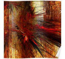 Abstraction Transfusium 1 Poster
