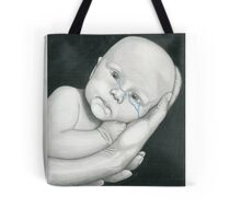 Crying Baby Tote Bag