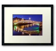 Ha'penny bridge, Dublin Framed Print