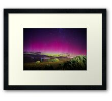 Aurora Australis The Southern Lights Framed Print