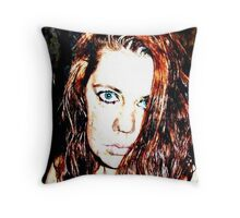 her heart had turned to rust...she was all rust now... Throw Pillow