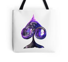 Ace of Dragons: Spades Tote Bag