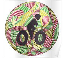 Cruisin' in the Bike Lane Poster