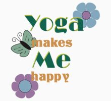 Yoga makes me happy One Piece - Long Sleeve