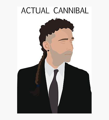 Actual Cannibal Photographic Print