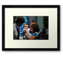 God Parents Framed Print