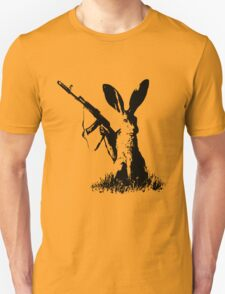 Jackrabbit with Kalashnikov Unisex T-Shirt